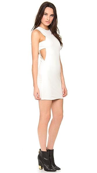 Olcay Gulsen Sleeveless Open Side Dress