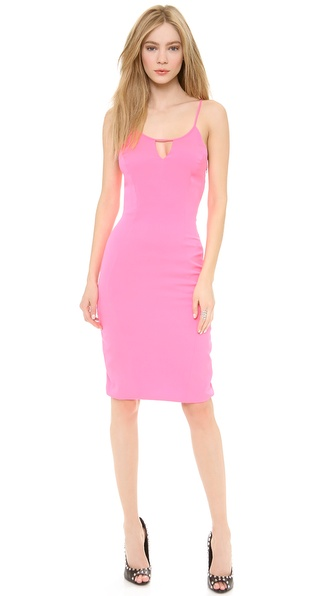 Olcay Gulsen Dress with Square Back Cutout