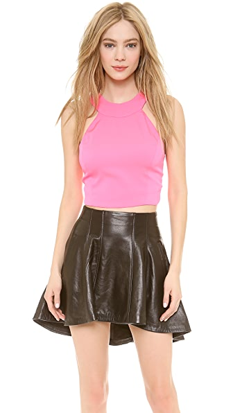 Olcay Gulsen Strapped Back Crop Top