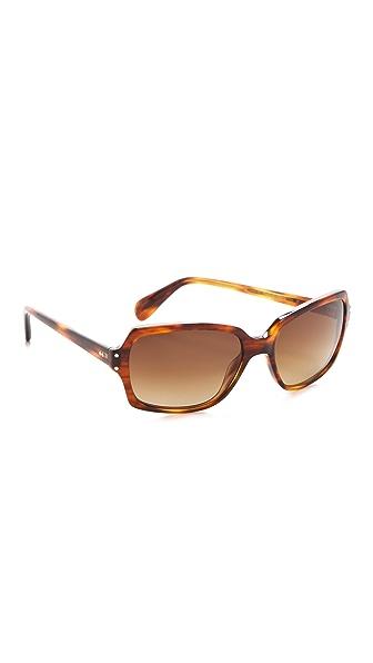 Oliver Peoples Eyewear Nanny B Polarized Sunglasses