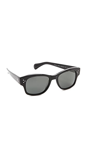 Oliver Peoples Eyewear Jannsson Polarized Sunglasses