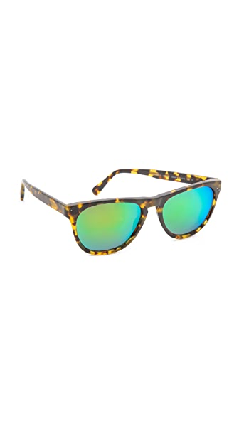 Oliver Peoples Eyewear Daddy B Mirrored Sunglasses