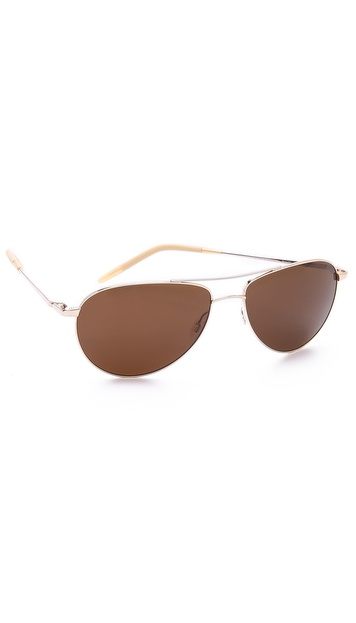 Oliver Peoples Eyewear Benedict Polarized Sunglasses