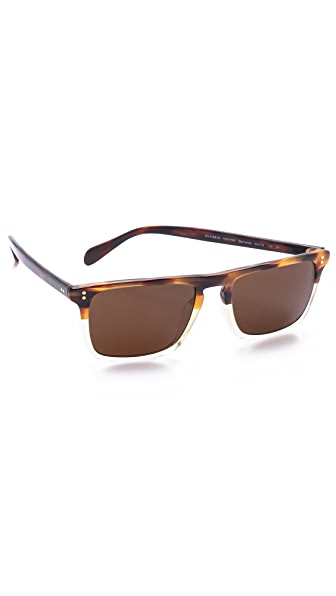 Oliver Peoples Eyewear Bernardo Polarized Sunglasses