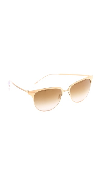 Oliver Peoples Eyewear Leiana Flash Mirror Sunglasses