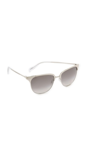 Oliver Peoples Eyewear Leilana Flash Mirror Sunglasses