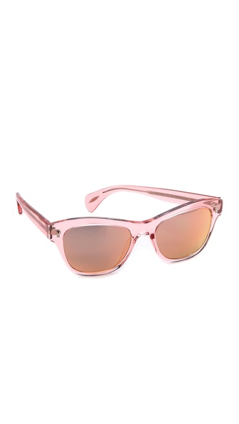 Oliver Peoples Eyewear Sofee MIrrored Sunglasses