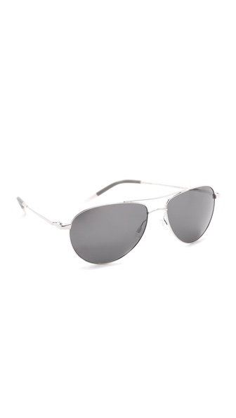 Oliver Peoples Eyewear Benedict Mirrored Sunglasses