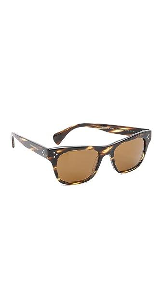 oliver peoples eyewear huston sunglasses shopbop