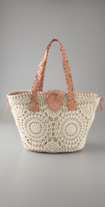 OndadeMar Decorative Two Tone Bag