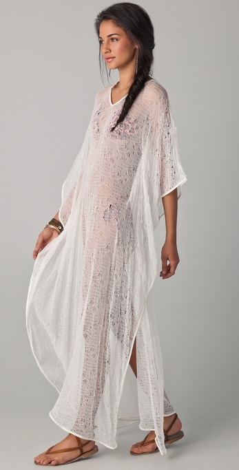 OndadeMar Riviera Mesh Cover Up Dress