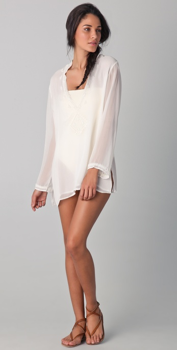 OndadeMar Riviera Sands Silk Georgette Cover Up