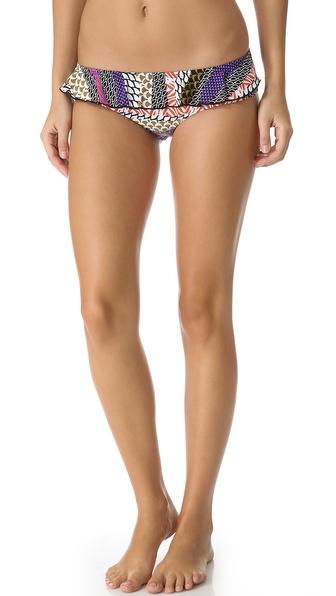 OndadeMar Ku Tai Ruffle Bikini Bottoms