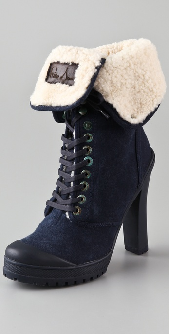 ONE by Philip Simon Kevoik High Heel Booties