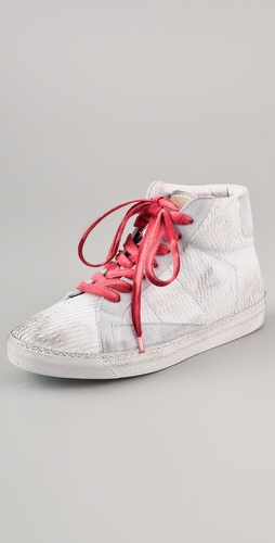 ONE by Giorgio Brato Embossed Snake Hi Top Sneaker
