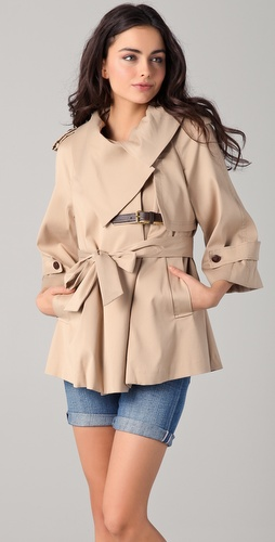 ONE by McGinn Billie Trench Jacket