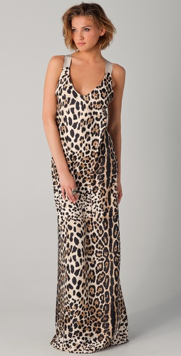 ONE by Costume Dept. Leopard Maxi Dress