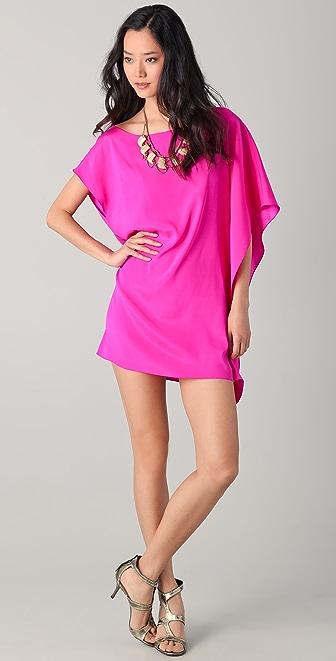 ONE by Ramy Brook Marcie Side Drape Dress