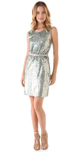 ONE by Sequined Sheath Dress