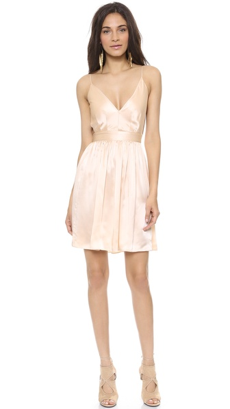 ONE by Contrarian Babs Bibb Mini Dress