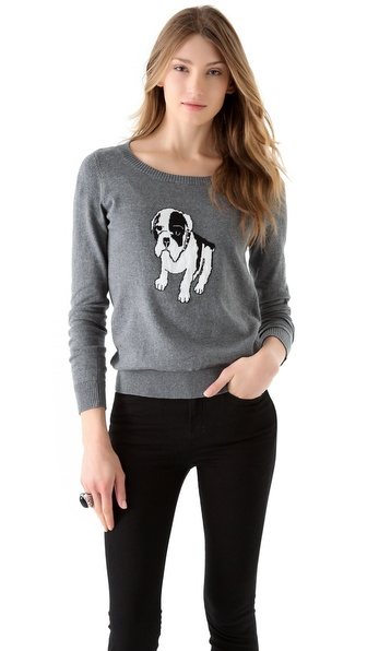 ONE by Sunny Girl Bulldog Sweater