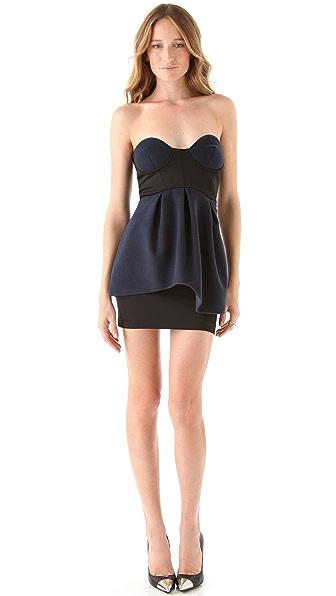 ONE by Gabby Applegate Peplum Dress