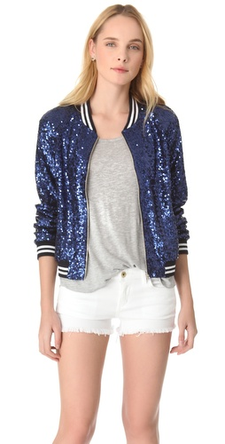 ONE by Blue Sequins Jacket