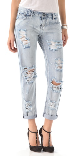 ONE by Awesome Distressed Jeans