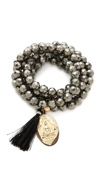 ONE by Lead Bead Tassel Necklace / Bracelet