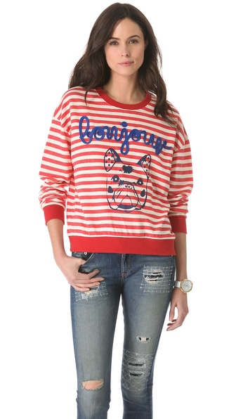 ONE by Stripe by N Bonjour Dog Long Sleeve Tee