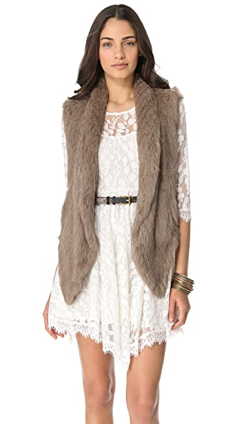 ONE by June Fur Vest