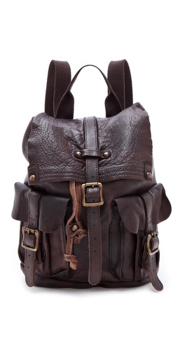 ONE by Shiloh Leather Backpack at Shopbop.com