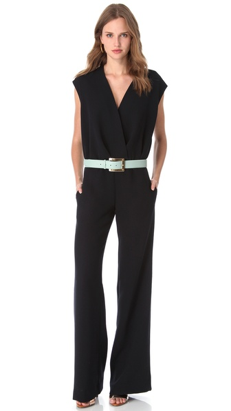 ONE by 5th & Mercer by La La & Jason Bolden Sleeveless Jumpsuit