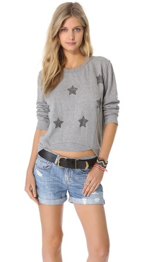 ONE by Numph Wilma Star Sweatshirt
