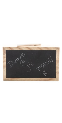 ONE by Honor Roll Chalkboard Clutch