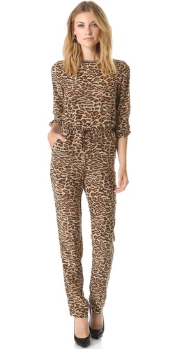 ONE by Leopard Jumpsuit