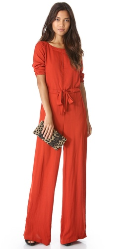 ONE by Jade Slit Neck Jumpsuit