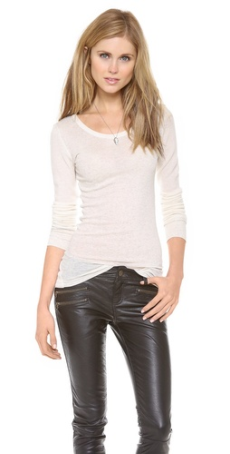 ONE by Alida Scoop Neck Top at Shopbop / East Dane