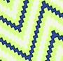 Lime Zigzag