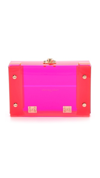 ONE by Nadia Gabriella Ella Acrylic Clutch