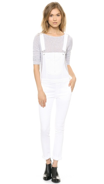 ONE by Black Orchid White Overalls