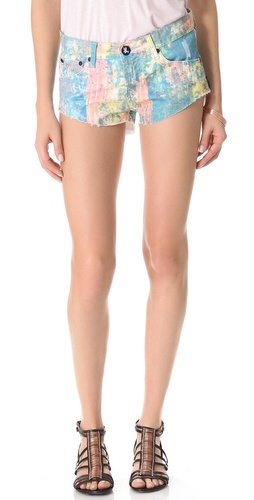One Teaspoon Speckle Bonita Shorts