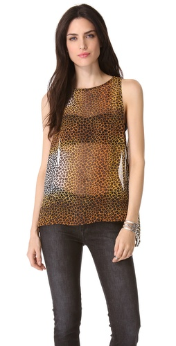 Kupi One Teaspoon Cheetah Top i One Teaspoon haljine online u Apparel, Womens, Tops, Tee,  prodavnici online