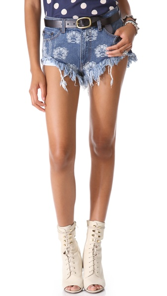 One Teaspoon Crest Rollers Shorts