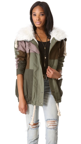 One Teaspoon Patchwork Defender Jacket
