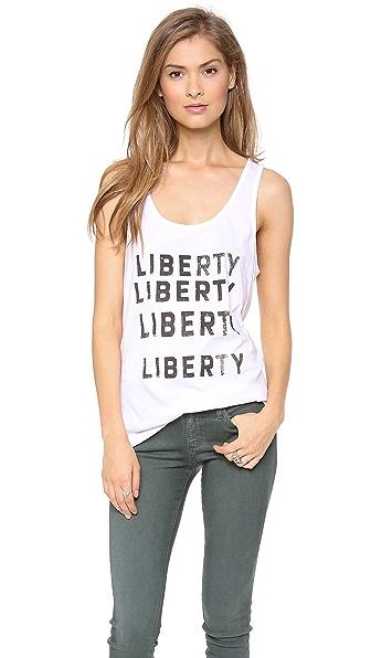 One Teaspoon Liberty Liberty Vintage Tank
