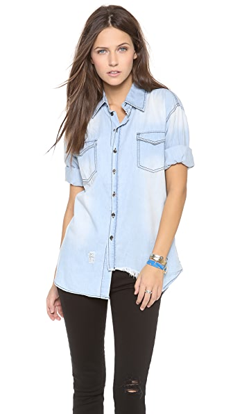 One Teaspoon Denim Shirt