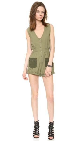 One Teaspoon Buck Jones Jumpsuit