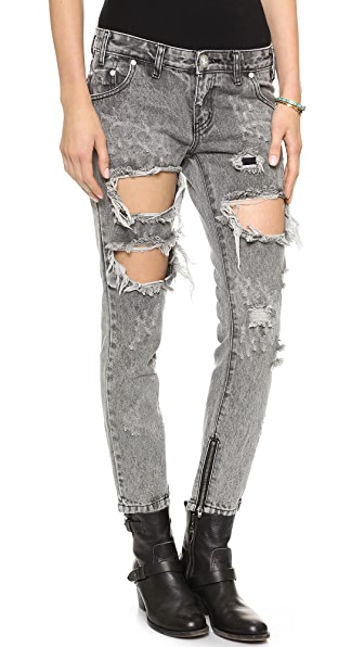 One Teaspoon Melrose Trashed Jeans