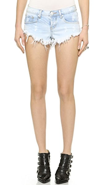Shopbop One Teaspoon Shorts One Teaspoon Saint Bonita